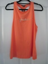 New F&F Active Womens Ladies Exercise Gym Workout Sports Vest T-Shirt Top Small