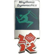 2012 London Olympics official pictogram RHYTHMIC GYMNASTICS PIN badge mint MIP