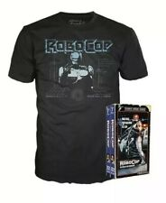 Funko Robo Cop T-Shirt Size XL In Reto Home Video VHS Packaging Target Exclusive