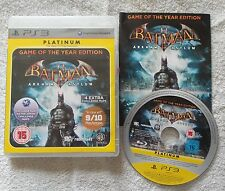 PS3 Batman: Arkham Asylum-Game of the Year Edition pour Sony Playstation 3 Très bon état