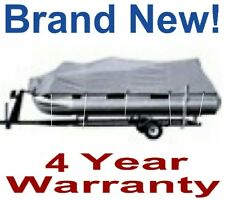 """NEW GULFSTREAM 21'-24' PONTOON/PARTY BARGE BOAT COVER,WARRANTY,96"""" BEAM,BC2104B"""