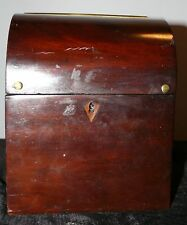 ANTIQUE VICTORIAN KEYED LOCK LETTER BOX19TH CENTURY