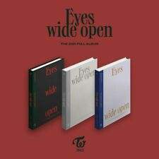 TWICE - [EYES WIDE OPEN] 2nd Album CD+Poster+Photobook+Photocard+Pre-Order+Gift