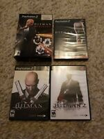 Hitman Trilogy PlayStation 2 PS2 - Blood Money - Contracts - Silent Assassin NEW