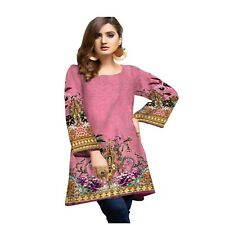 Sufia Fashions® Women Indian Dress Kurta Kurti Cotton Digital Print Tunic Top