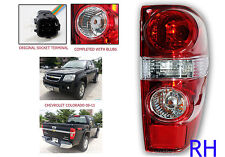 Right Rear Back Tail Light Lamp For Chevrolet Colorado 2009-2011 LS LT Z 4WD