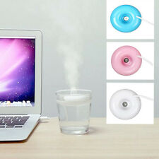 Mini USB Donut Humidifier Air Purifier Aroma Diffuser Office Home Car Portable