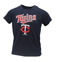 Minnesota Twins Official MLB Apparel Kids Youth Size Athletic Shirt New Tags