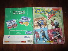 ALBUM DI FIGURINE PANINI CALCIATORI 1997-98 COMPLETO