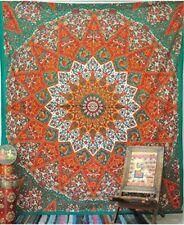 Orange Queen Size Tapestry Hippie Star Mandala Wall Hanging bohemian bedspread