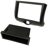 Adaptateur autoradio façade cadre réducteur 1/2DIN pour Toyota Yaris Verso 99-02