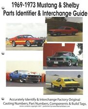1969-1973 Mustang, Boss and Shelby Parts Identifier