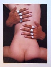 GUY BOURDIN photo print, 36 x 27cm, retro fashion, Vogue Paris 1968, nude, EX46