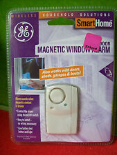 Magnetic Window Alarm - Works with Doors, Sheds, Garage, Boat ~ GE Smarthome