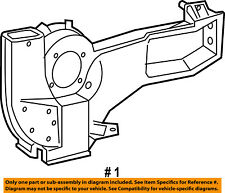 FORD OEM 09-14 E-350 Super Duty 5.4L Evaporator Heater-Rear Housing 9C2Z18D283A