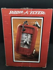 """RADIO FLYER WAGON PICTURE FRAME HOLDS 2.5""""X3"""" PICTURE NEW IN BOX"""