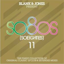 "BLANK & JONES - SO80S 11 2018 2CD 22 x 12"" Mixes ABC,WHODINI,ZZ TOP,ROD STEWART"