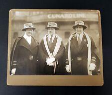Original photograph of Cunard nurses White Star Line Titanic interest..