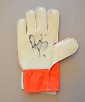 Asmir Begovic Signed Goalkeeper Glove Stoke City Goalie Autograph Memorabilia