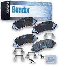 Bendix CFC866 Premium Copper Free Ceramic Brake Pads - Pair Left Right Pad yy