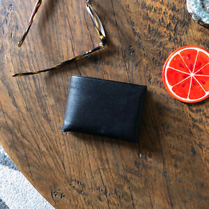 Vintage Buxton 3 Way Wallet 1940s 1950s Classic English Morocco Leather NOS Mint