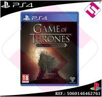 GAME OF THRONES JUEGO PS4 FÍSICO NUEVO PRECINTADO PLAYSTATION 4 JUEGO DE TRONOS