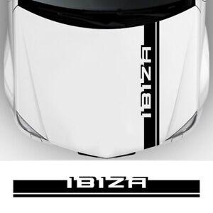 Bonnet Cover for Seat Ibiza 6J 6L Vinyl Film PVC Decoration Sport Racing Decals