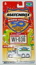 MATCHBOX ACROSS AMERICA 50TH BIRTHDAY SERIES WISCONSIN PETERBILT TANKER