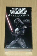 2015 Topps Star Wars Masterwork hobby sealed mini box pack