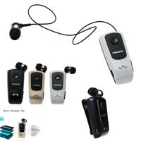 Retractable Fineblue F920 Stereo Wireless Bluetooth Headset Earphone US RF