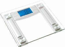 Digital Bathroom Scale LCD Body Weight Management 400 lb Silver Or Black NEW