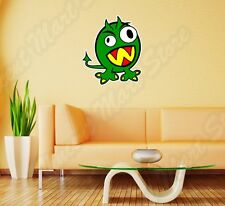 "Green Funny Monster Kids Wall Sticker Room Interior Decor 20""X25"""