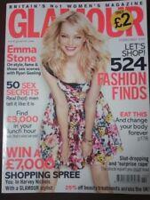 Glamour UK magazine February 2013 Emma Stone