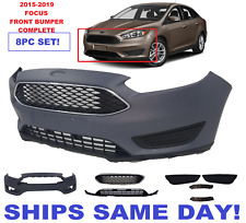 2015-2019  FORD FOCUS front BUMPER COVER WITH GRILLS AND FOG LIGHT COVER SE SEL