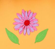 Die Cutter Set hecha a mano de metal tarjeta Scrapbook Floral Flores corte muere DC1221