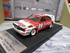 AUDI Quattro Rallye Belga Ypern Ypres 1983 #4 Duez Lux SMS 1/250 Scala43 1:43