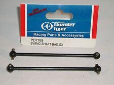 THUNDER TIGER R/C MODEL CAR PARTS PD7769 SWING SHAFT BAG S3 BUGGY EB4 SC DRIVE