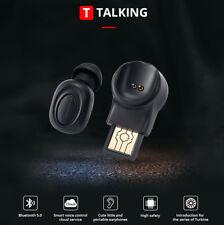 Mini Bluetooth 5.0 Stereo Headset In-Ear Wireless Earphone Earbud Headphone