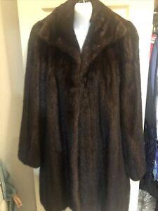 Revillon  Mink Fur Coat Size XL/L Excellent Condition