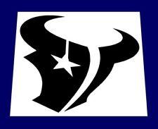 "NFL HOUSTON TEXANS LOGO STENCIL * FREE USA S&H * 4.25"" x 4.25"" (inches) * Hexans"