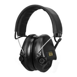 Sordin Supreme Pro-X/L - Black Cups, Leather Headband