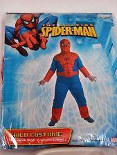 Boy Child Plus Size /10-12 Spider-man Marvel Halloween Costume Decoration
