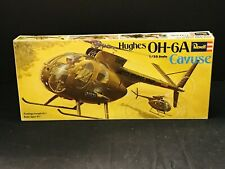 New ListingVintage Revell Hughes Helicopter Oh-6A Cayuse 1:32-H146-Parts On Injection Mol
