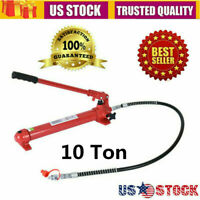 10 Ton Hydraulic Jack Hand Pump Ram Replacement for Porta Power Portable US Ship