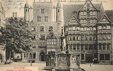 Hildesheim,Germany,Templehaus u.Wedekindhaus,Lower Saxony,Used,No Stamp,c.1908