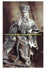 mm552- Maria Pavlovna Romanov in costume at ball 1903 Russia -Royalty photo 6x4""