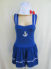 Sexy SAILOR GIRL Womens S/M Halloween Dress-Up Costume NEW