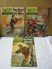 Classics Illustrated Two Years before The Mast Comic Book Robin Hood T*