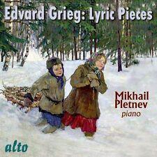 CD GRIEG LYRIC PIECES MIKHAIL PLETNEV inc. NOCTURNE op.54/4 BUTTERFLY op.43/1
