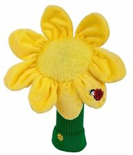 Sunflower Golf Animated Headcover Driver Head Cover Daphnes Golf Club Cover
